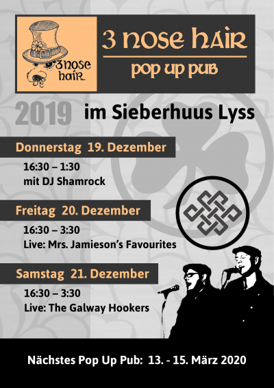 Irish Pop Up im Sieberhuus